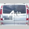Заднее стекло (распашонка правая) на Mercedes-Benz Vito 04- с электрообогревом (Мерседес Вито 04-)