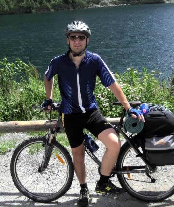 Денис Пєсков подорожував на велосипеді Болгарією
