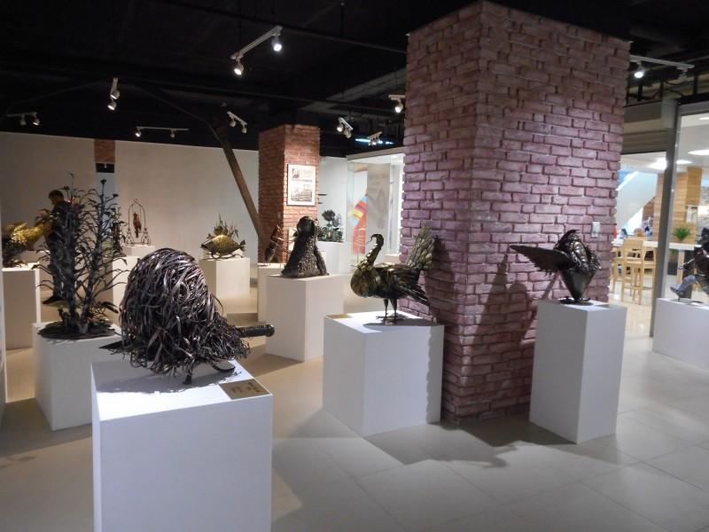 Виставка кованих скульптур. Луцьк